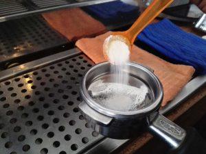 igienizare espressor de cafea