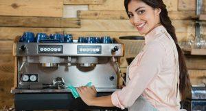 igienizarea espressorului